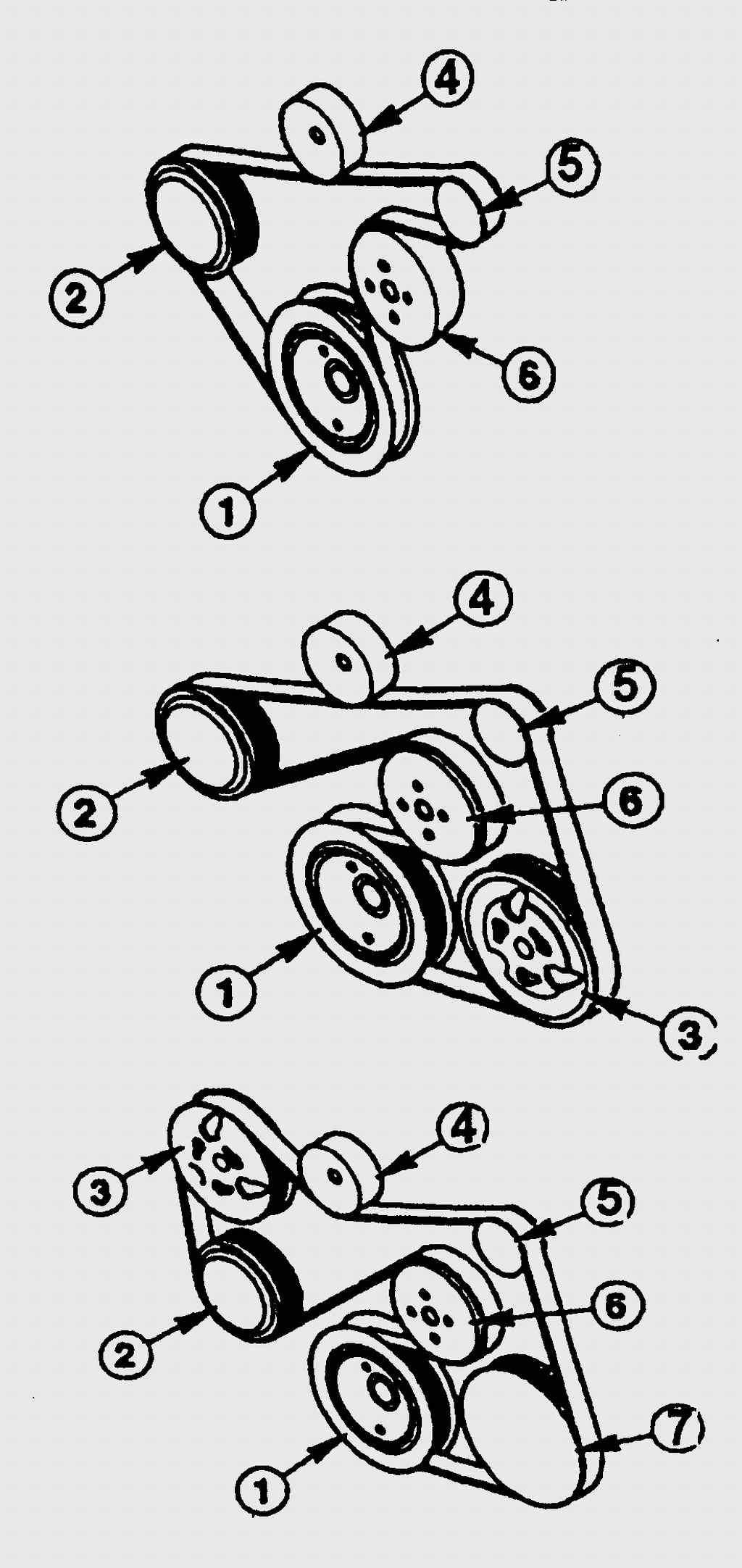 Ремень генератора на форд транзит 25 фотография