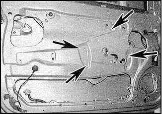 замена бокового стекла на опель омега в