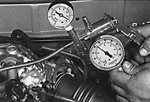 Ручной вакуумный насос с манометром 41