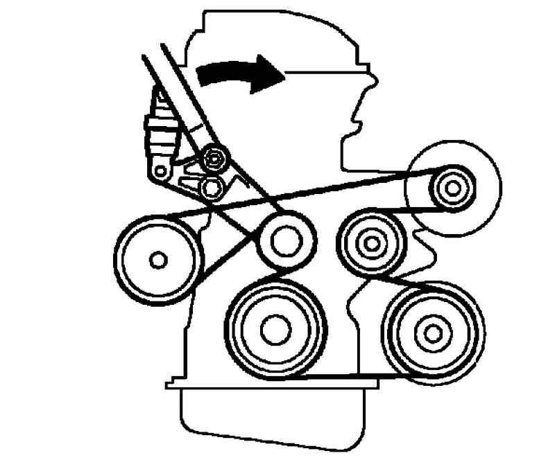 toyota rav 4 iii ремень генератора