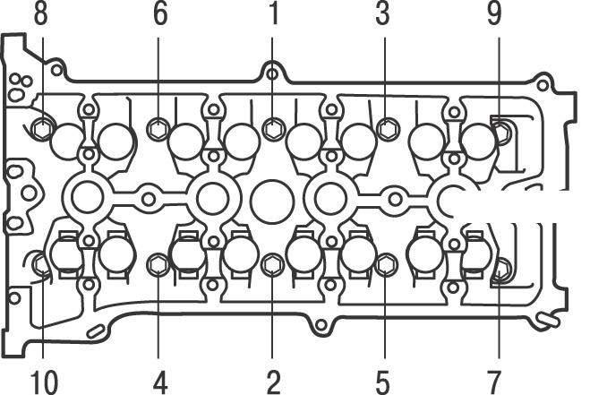 схема затяжки гбц картинка чистые цвета