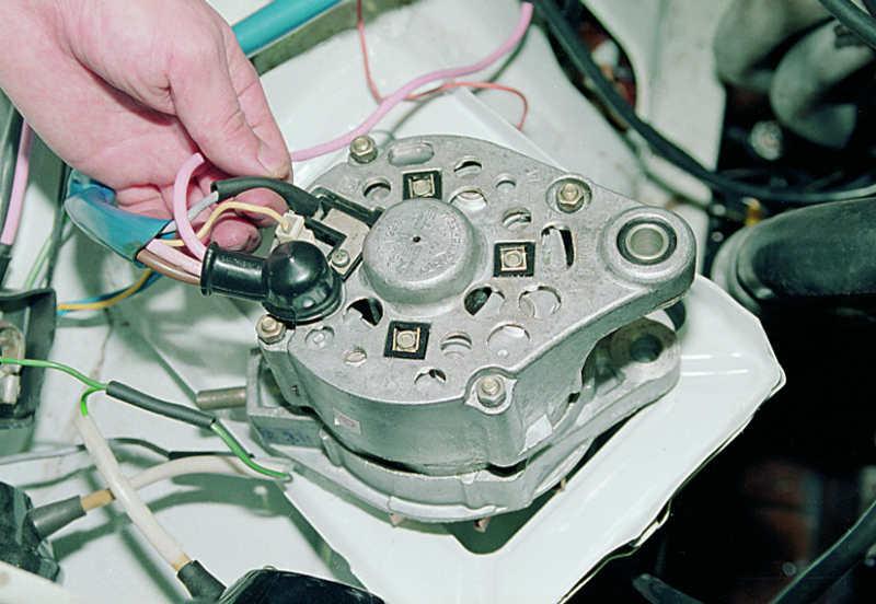 Фото №12 - проверка щеток генератора ВАЗ 2110