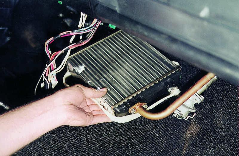 Как заменить радиатор печки Ваз 2107