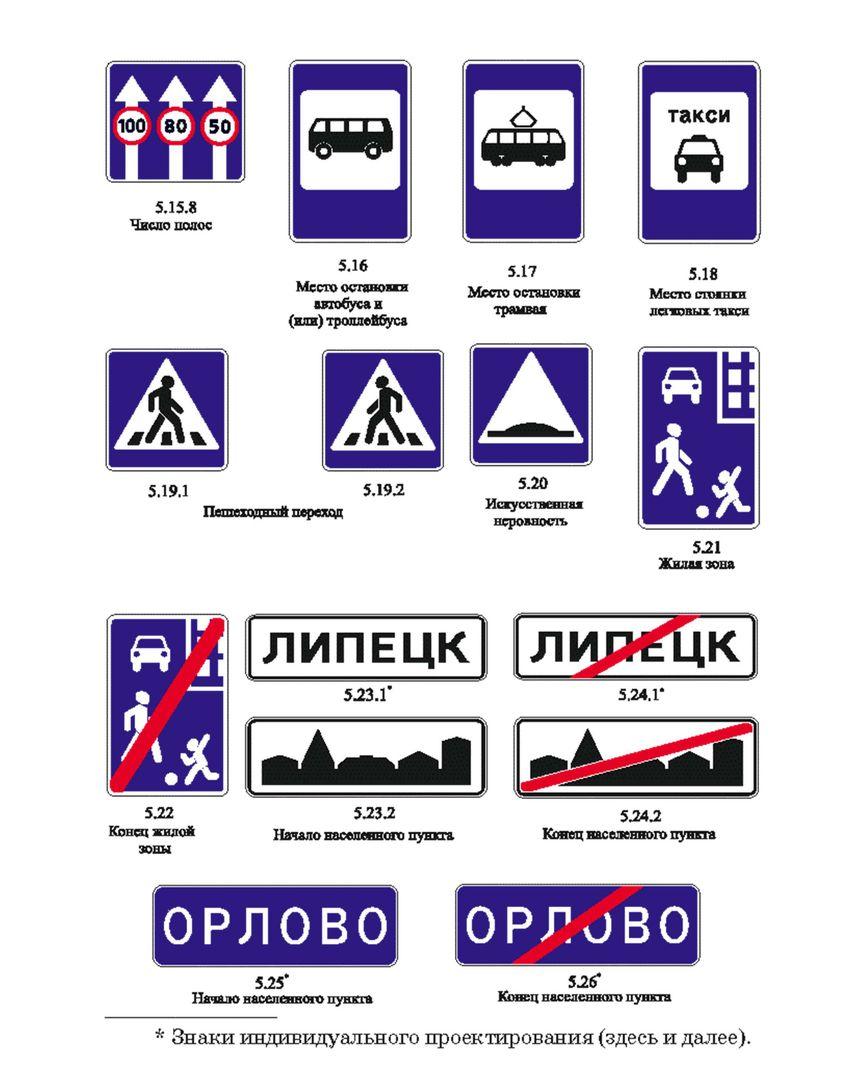 знаки пдд в картинках россия людей