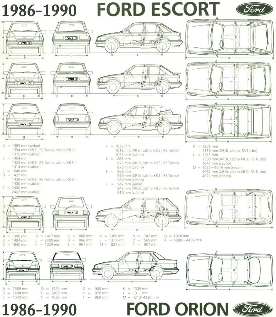 руководство по ремонту форд эскорт 1990 #7