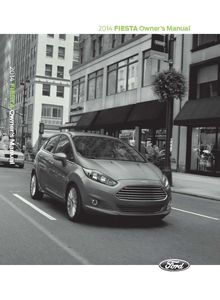 Ford Fiesta 2014 Owner's Manual