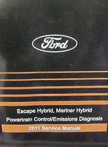 Service Repair Manual for Ford Escape Hybrid