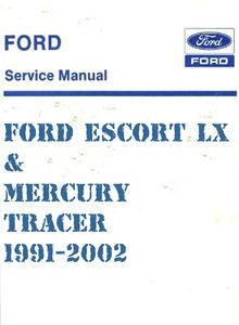 Ford Escort GT/LX and Mercury Tracer Automotive Repair Manual