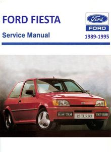 ford fiesta 1989 1995 service and repair manual. Black Bedroom Furniture Sets. Home Design Ideas
