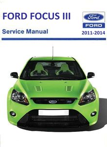 Focus RS 2011 Body Repair Manual