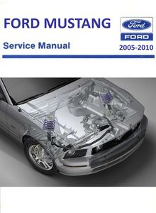 Ford Mustang GT Mark V Workshop Manual