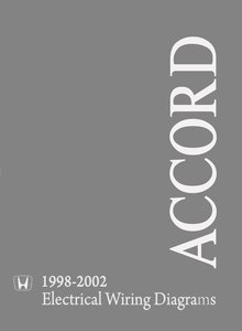 Honda Accord 1998-2002 Electrical Troubleshooting Manual