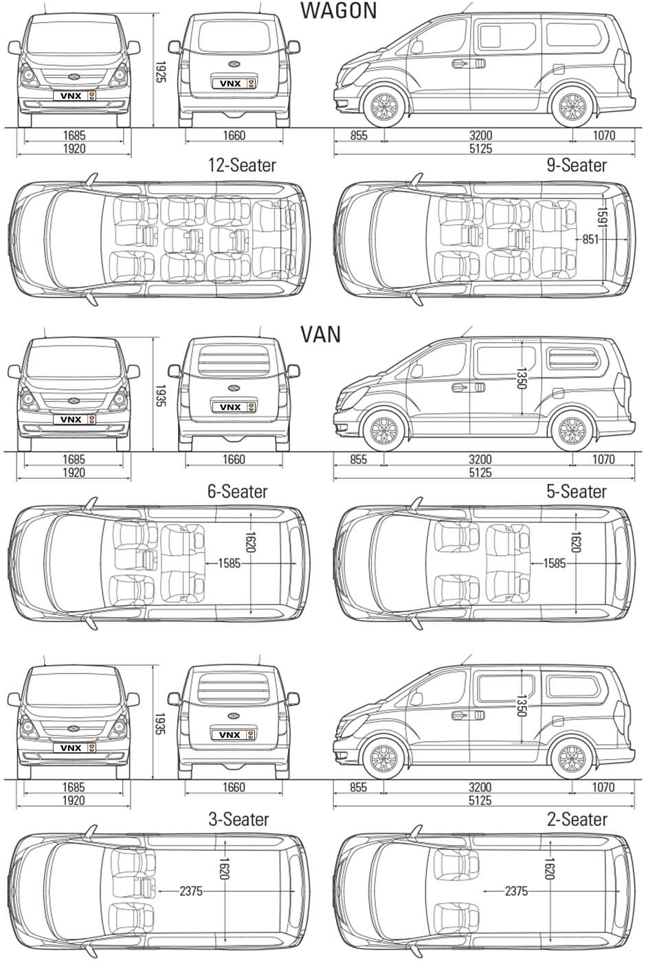 Hyundai H1 2008 Specifications