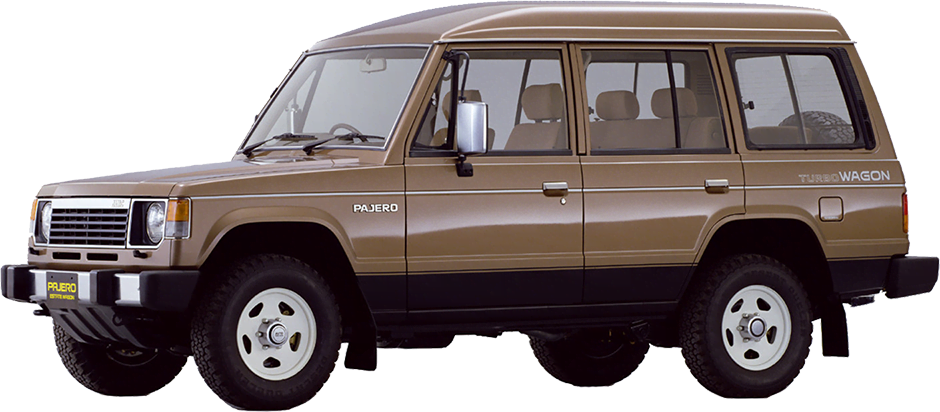 Mitsubishi Montero 1989 Service Manual