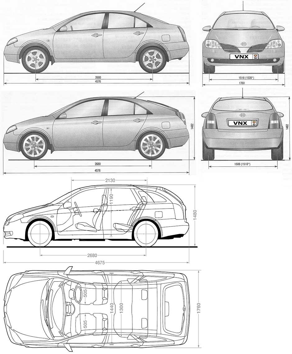 Руководство По Эксплуатации Nissan Primera P12 Скачать