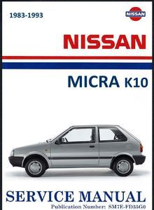 Nissan Micra K10 Owners Workshop Manual