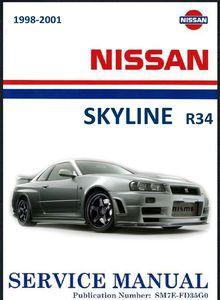 Руководство По Ремонту Nissan Skyline R34