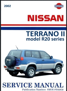 Nissan Terrano II model R20 Service Manual
