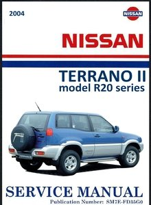 Nissan Terrano II model R20 series Service Manual