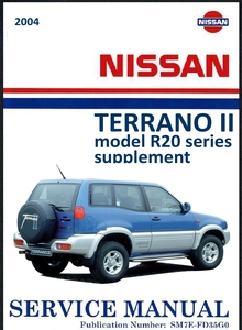 Nissan Terrano II model R20 series Supplement Service Manual