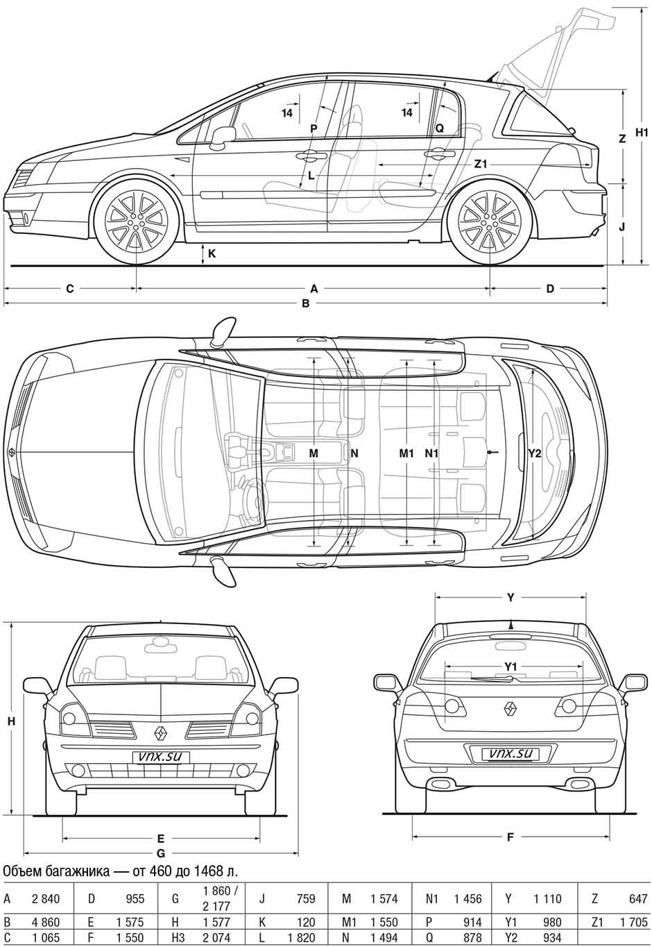 Руководство По Эксплуатации Renault Velsatis