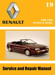 Renault 19 Service and Repair Manual
