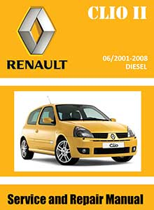 Renault Clio II Revue Technique automobile