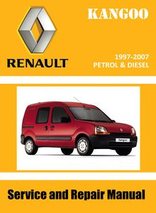 Renault Kangoo MPV Passenger/ light commercial vehicles Express Service and Repair Manual