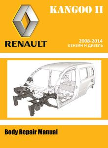 Renault Kangoo II Body Repair Manual