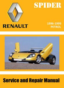 Renault Sport Spider Service and Repair Manual