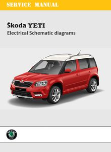 Skoda Yeti Outdoor Electrical Schematic Diagrams