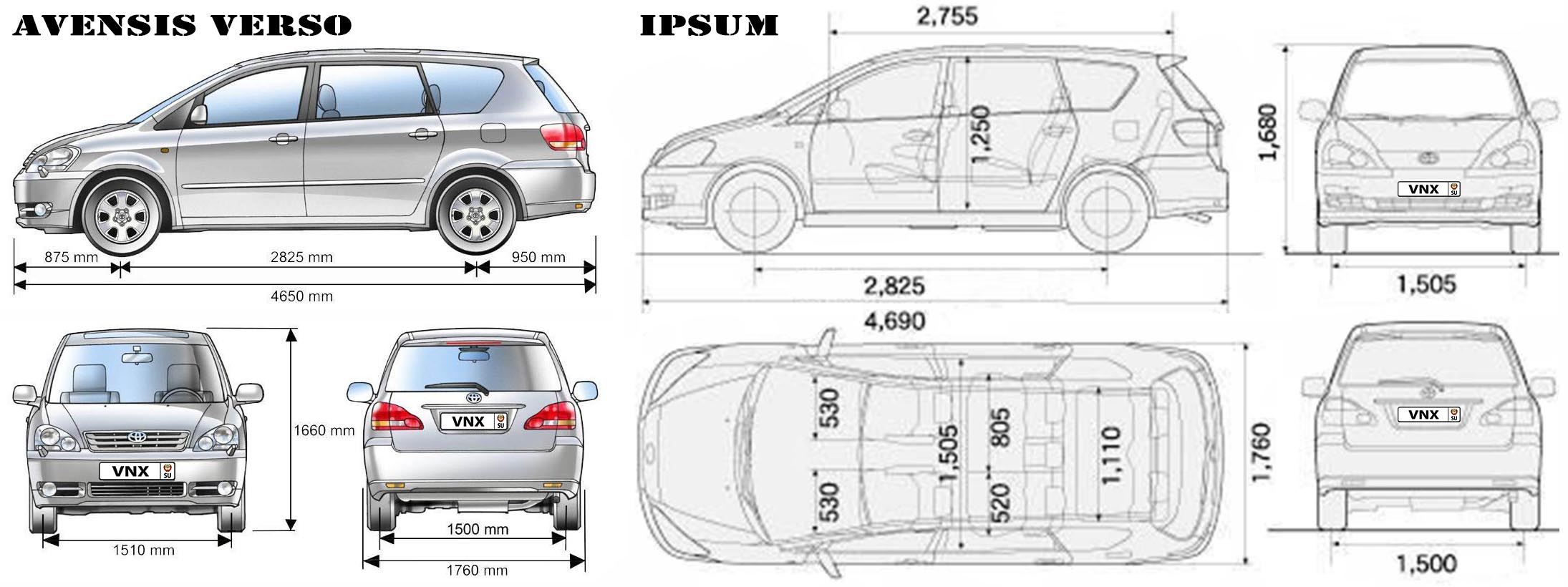 Toyota Ipsum Wiring Diagram Example Electrical Jeffdoedesign Com 2002 Tacoma Camry