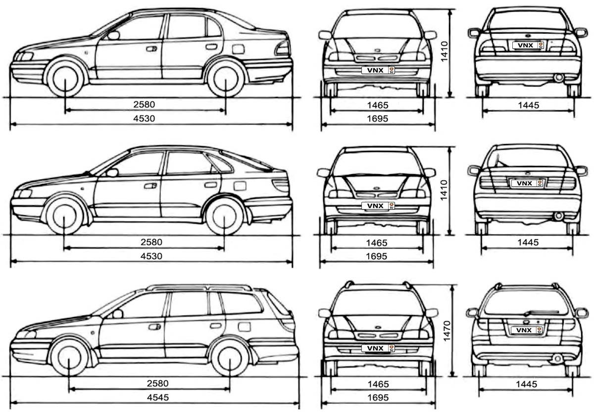 Toyota Carina E   Corona Electrical Wiring Diagrams