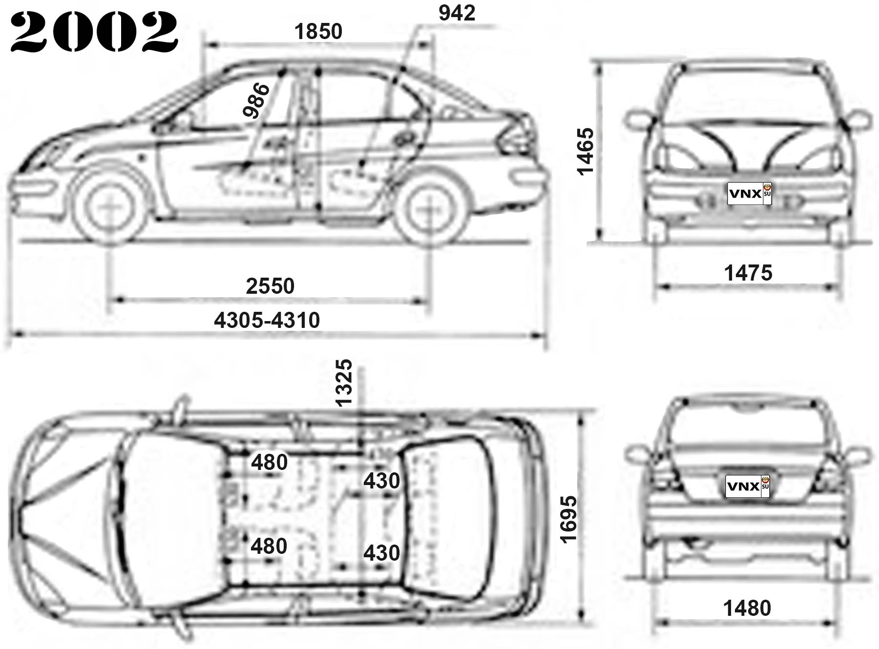 Diagram  2002 Toyota Prius Nhw11 Electrical Wiring