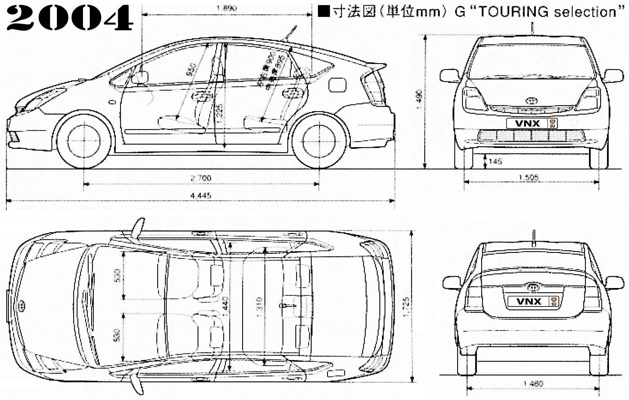 Toyota Prius Nhw20 Electrical Wiring Diagrams