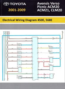 Electrical Wiring Diagrams Toyota Avensis Verso/ Picnic
