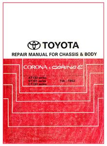 Electrical Wiring Diagrams Toyota Carina E / Corona (AT 190/ ST 191/ CT 190 series)