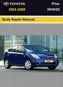 Toyota Prius NHW20 Body Repair Manual