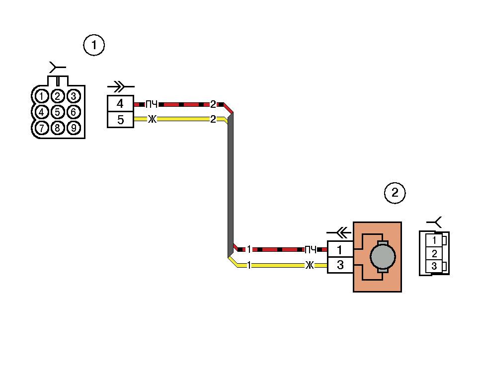 Провода на данной схеме имеют