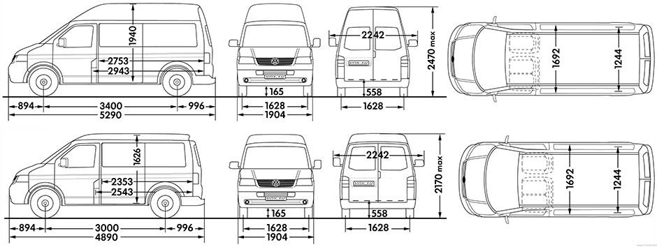 Размеры фольксваген транспортер т5 производители конвейерного оборудования екатеринбург